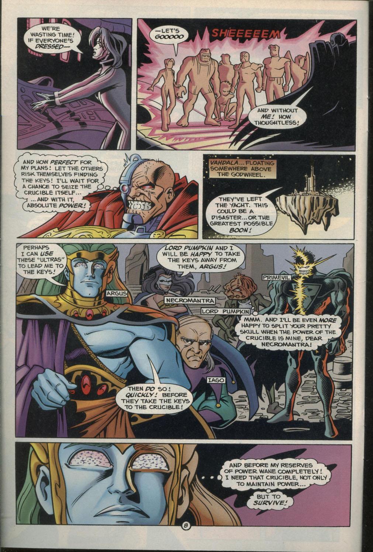 Read online Godwheel comic -  Issue #2 - 11