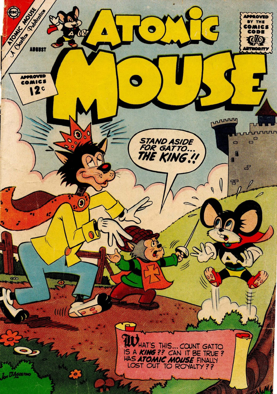 Atomic Mouse issue 49 - Page 1