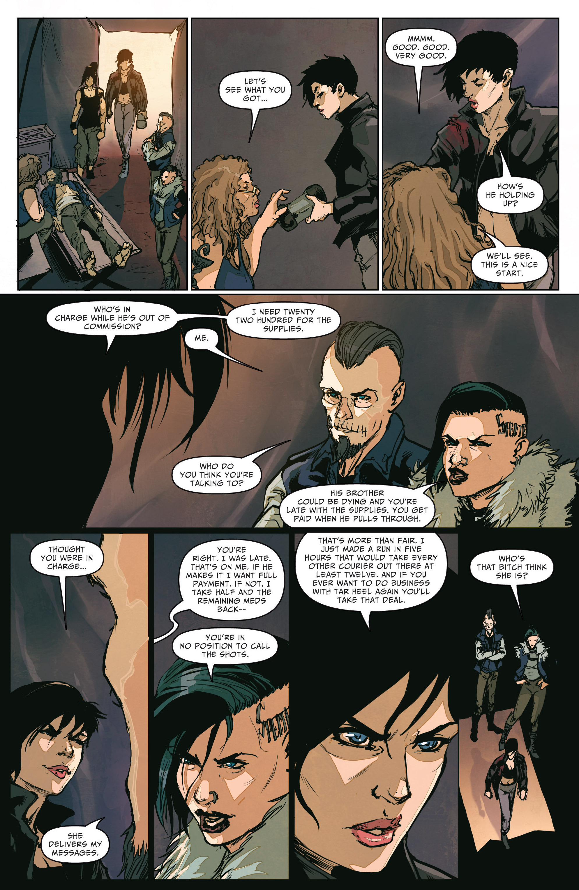 Read online The Courier comic -  Issue #2 - 9