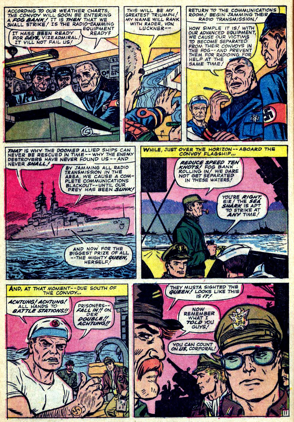 Read online Sgt. Fury comic -  Issue #26 - 16