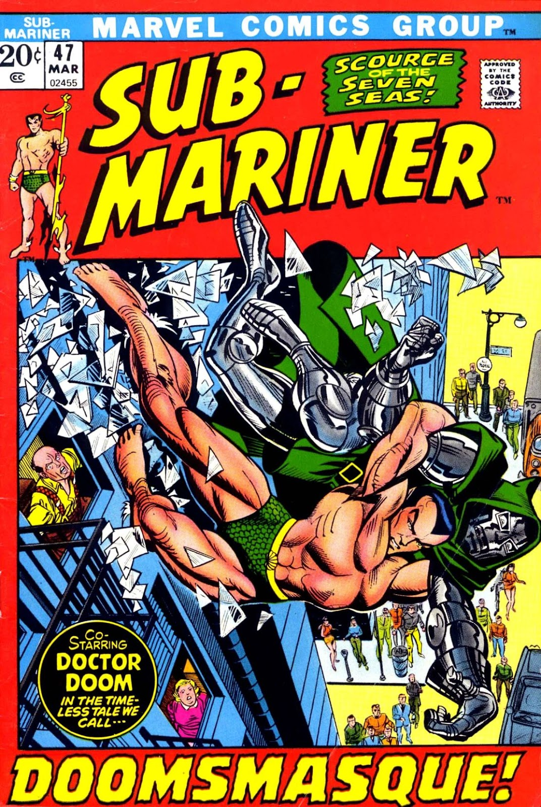 The Sub-Mariner 47 Page 1