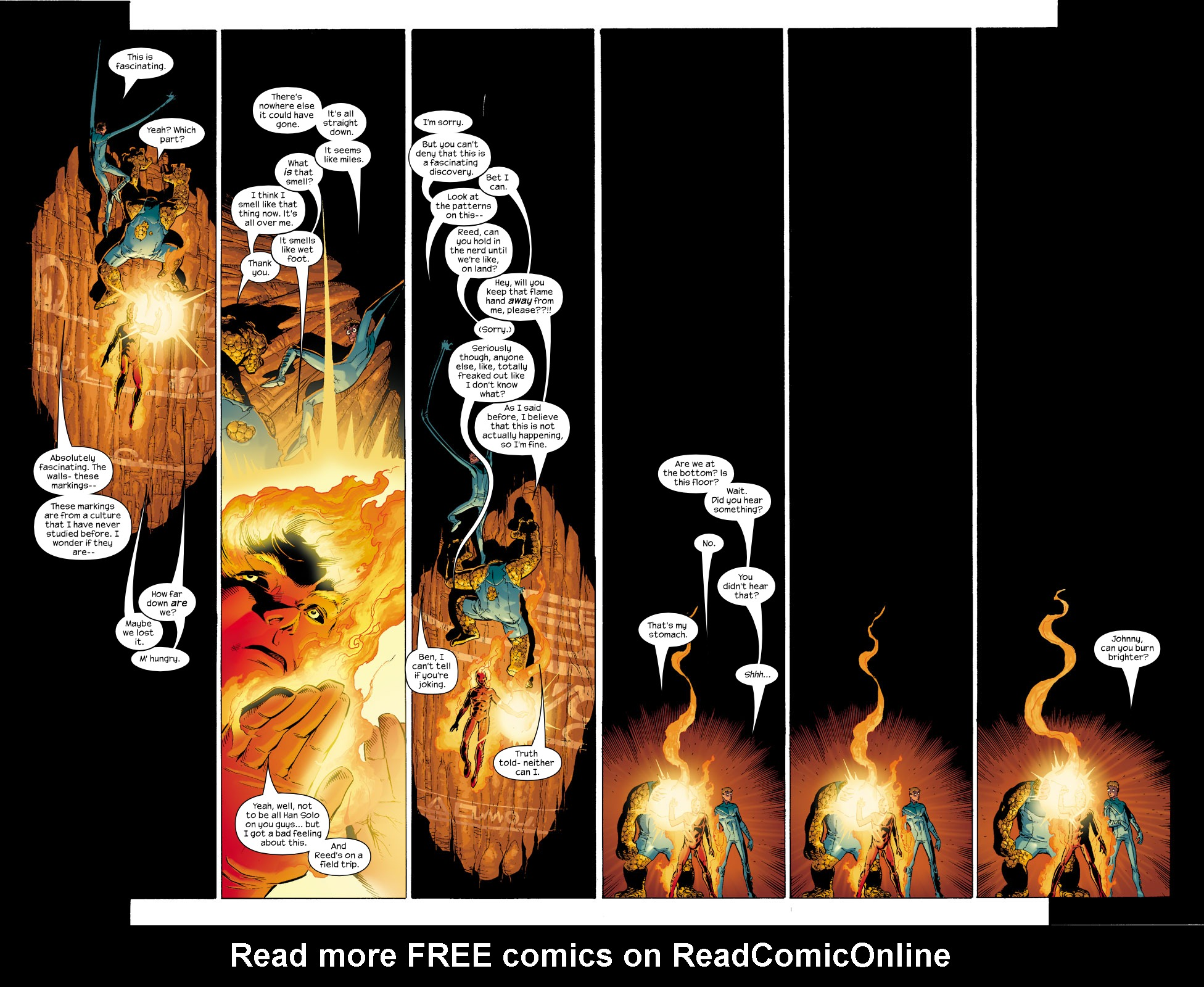 Read online Ultimate Fantastic Four (2004) comic -  Issue #5 - 14