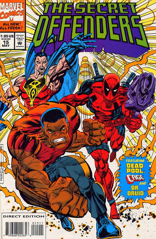 Read online Secret Defenders comic -  Issue #15 - 1