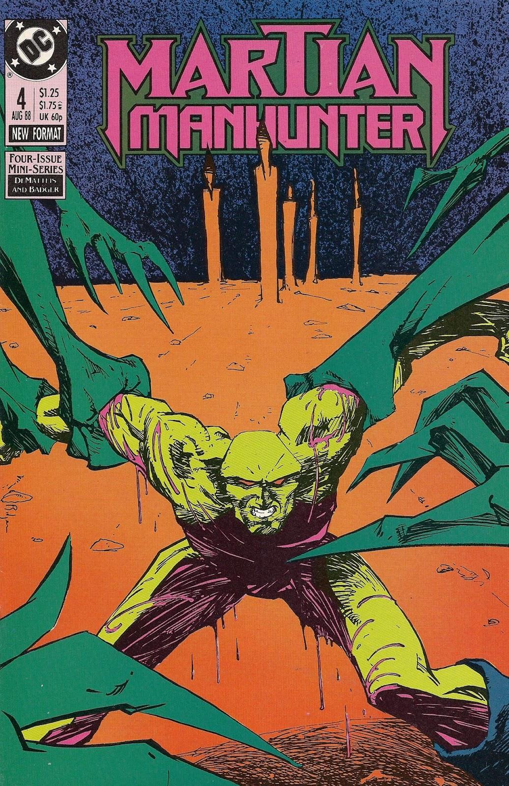 Martian Manhunter (1988) 4 Page 1
