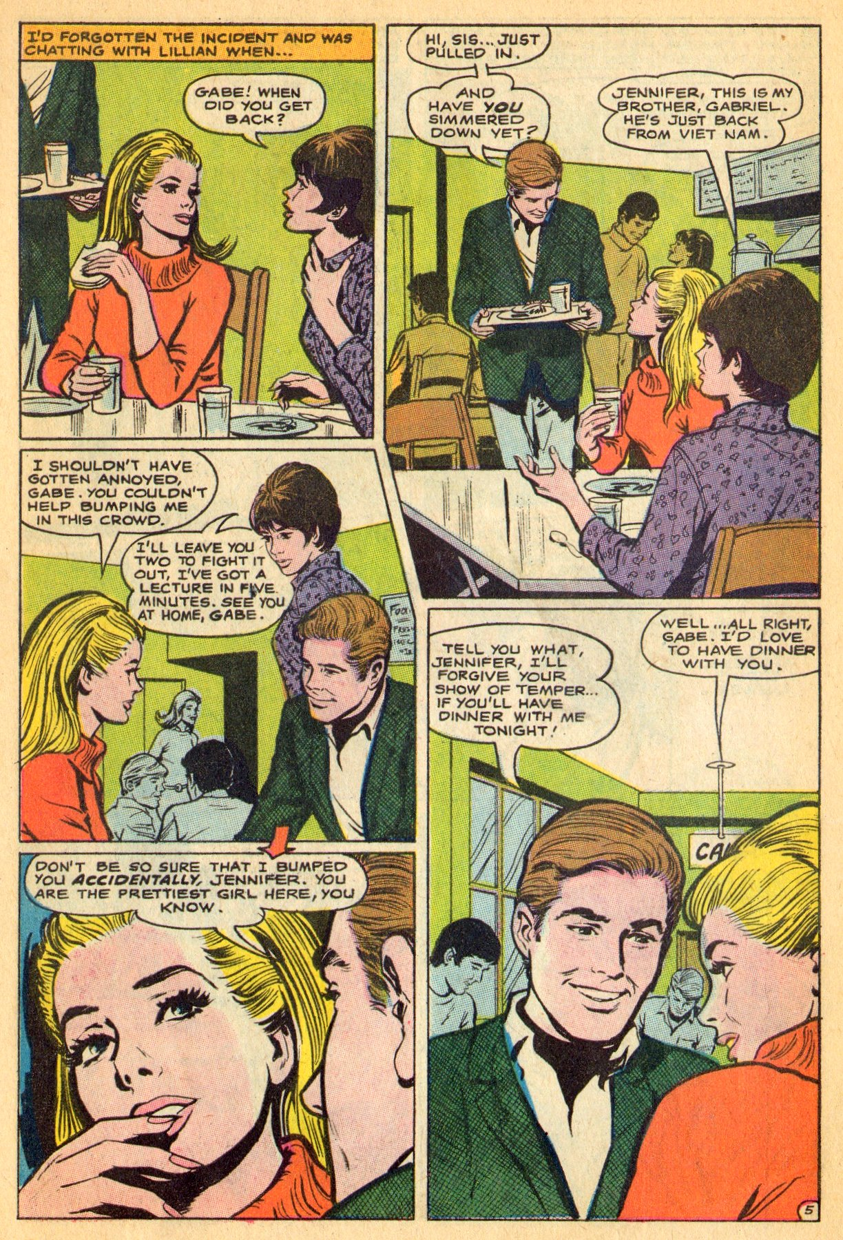Read online Secret Hearts comic -  Issue #134 - 7