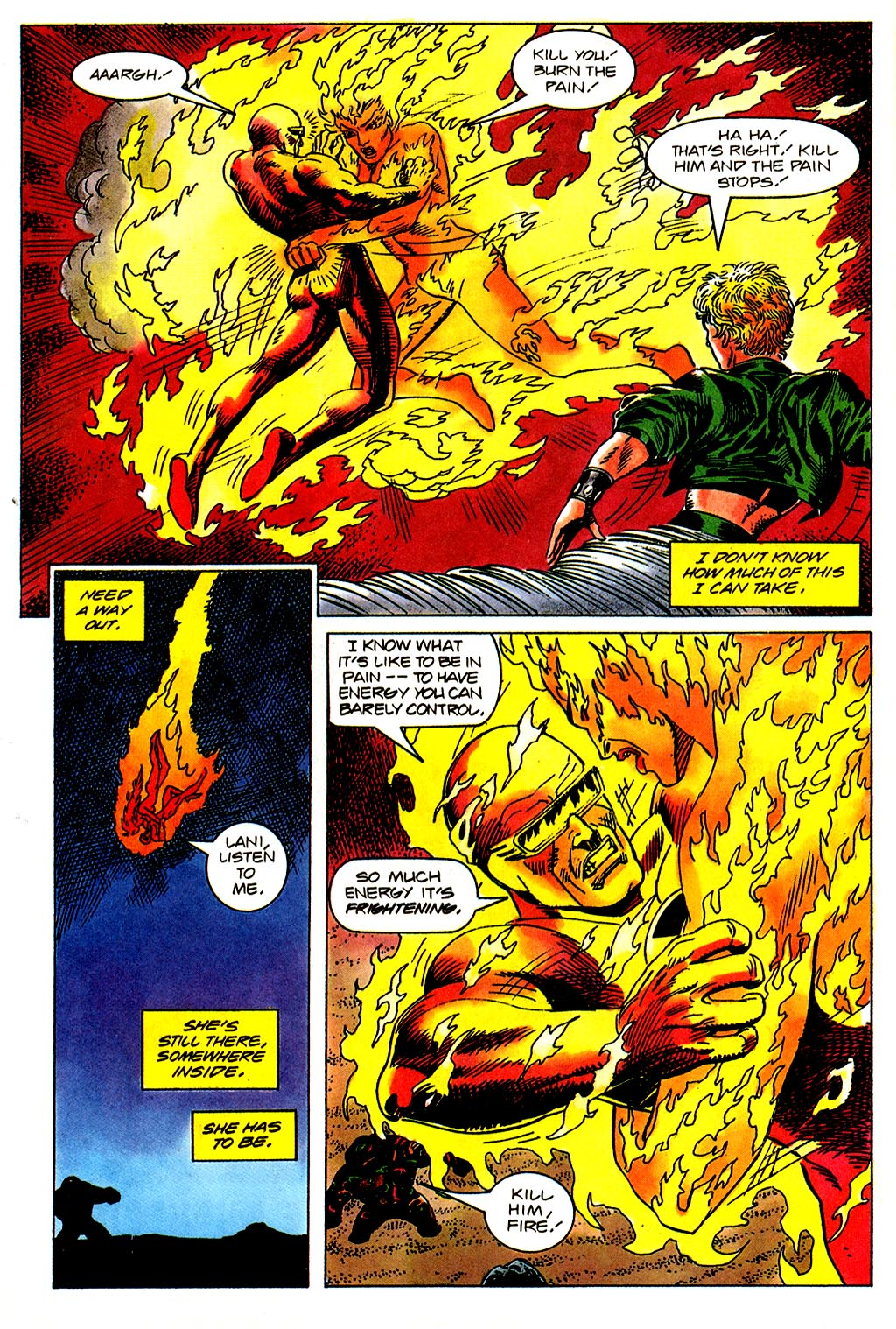 Read online Solar, Man of the Atom comic -  Issue #43 - 17