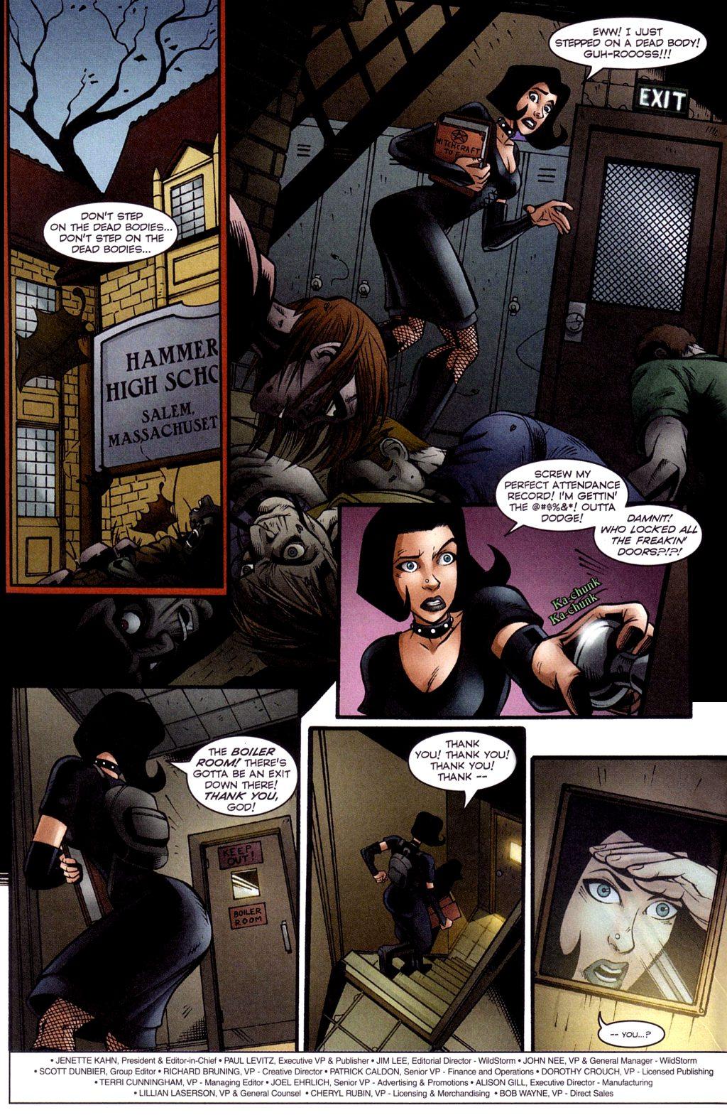 Read online Jezebelle comic -  Issue #3 - 3