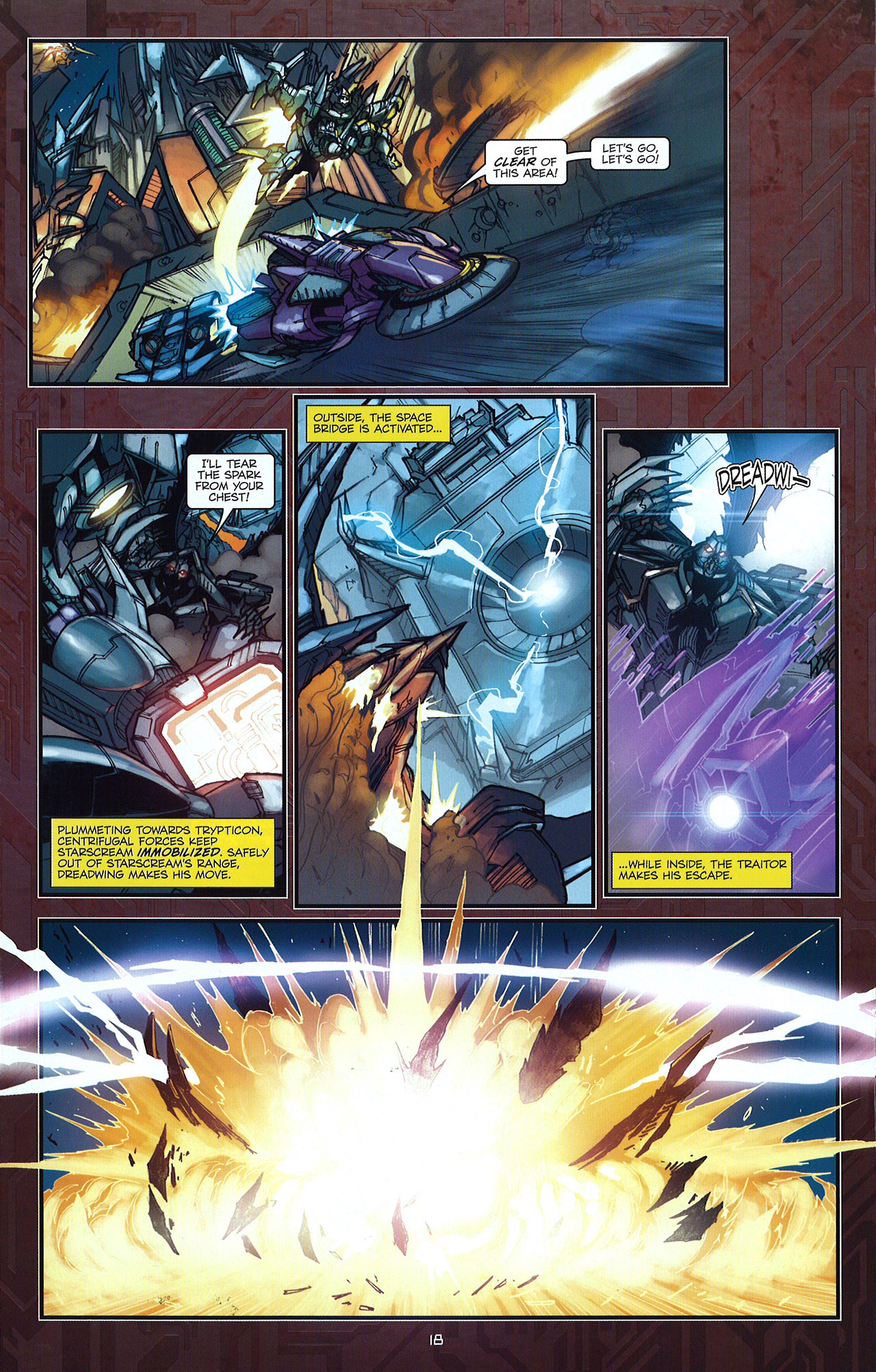 Read online Transformers: The Reign of Starscream comic -  Issue #5 - 21