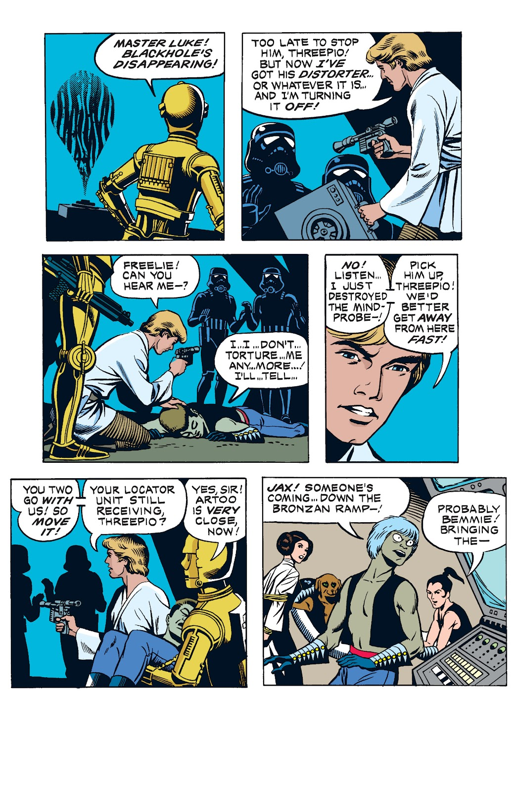 Read online Star Wars Legends: The Newspaper Strips - Epic Collection comic -  Issue # TPB (Part 2) - 12