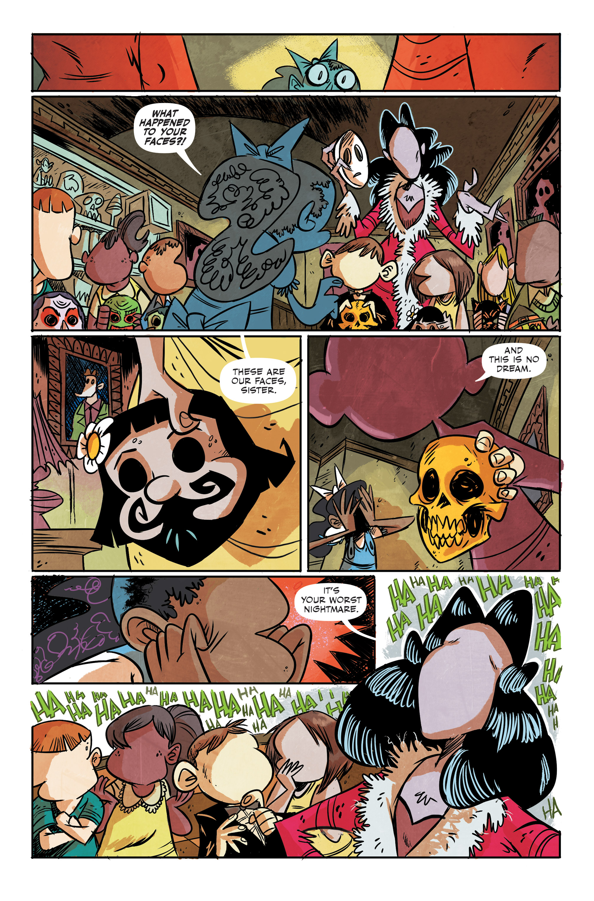 Read online Spook House comic -  Issue #5 - 15