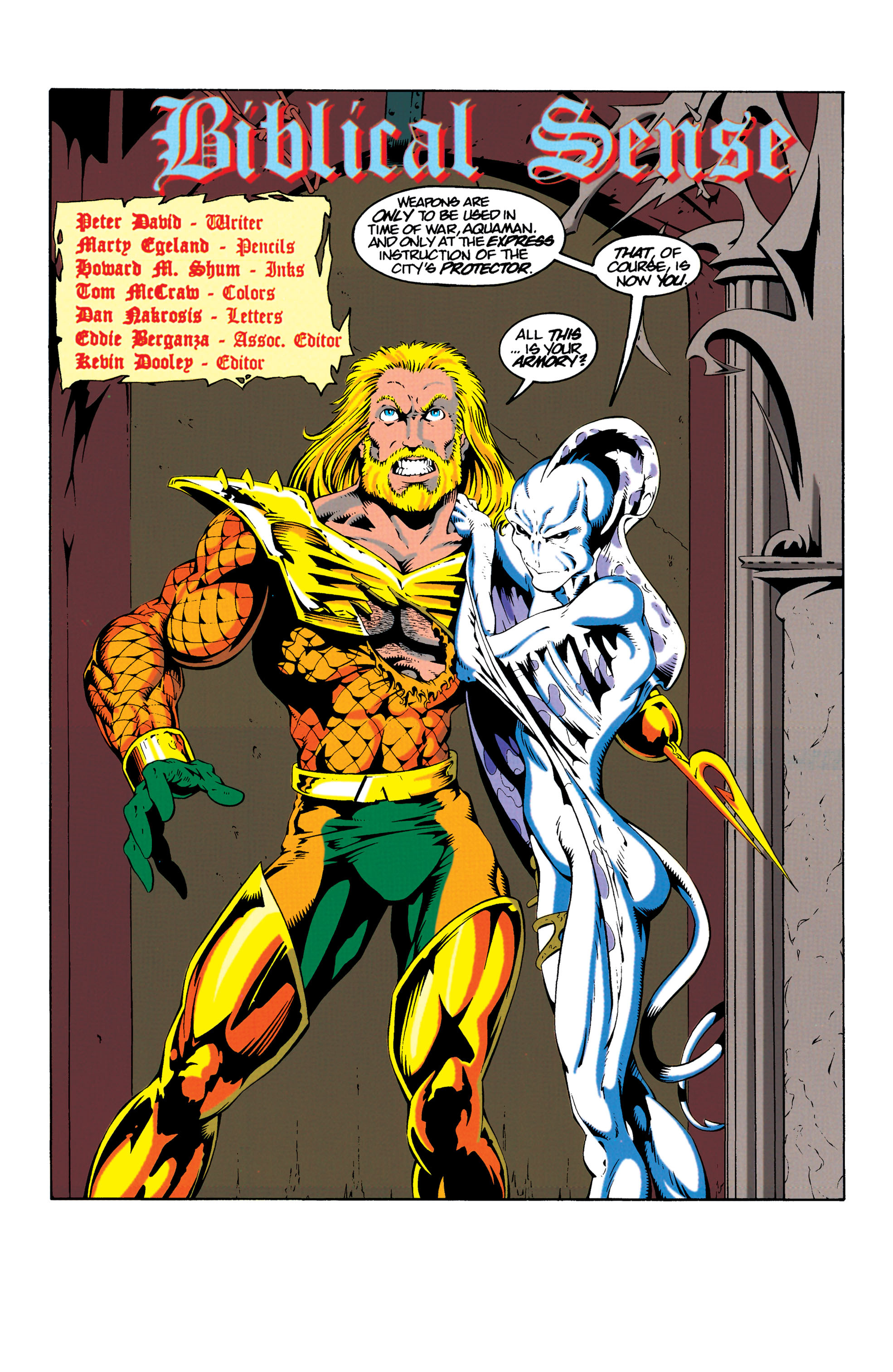 Read online Aquaman (1994) comic -  Issue #18 - 2