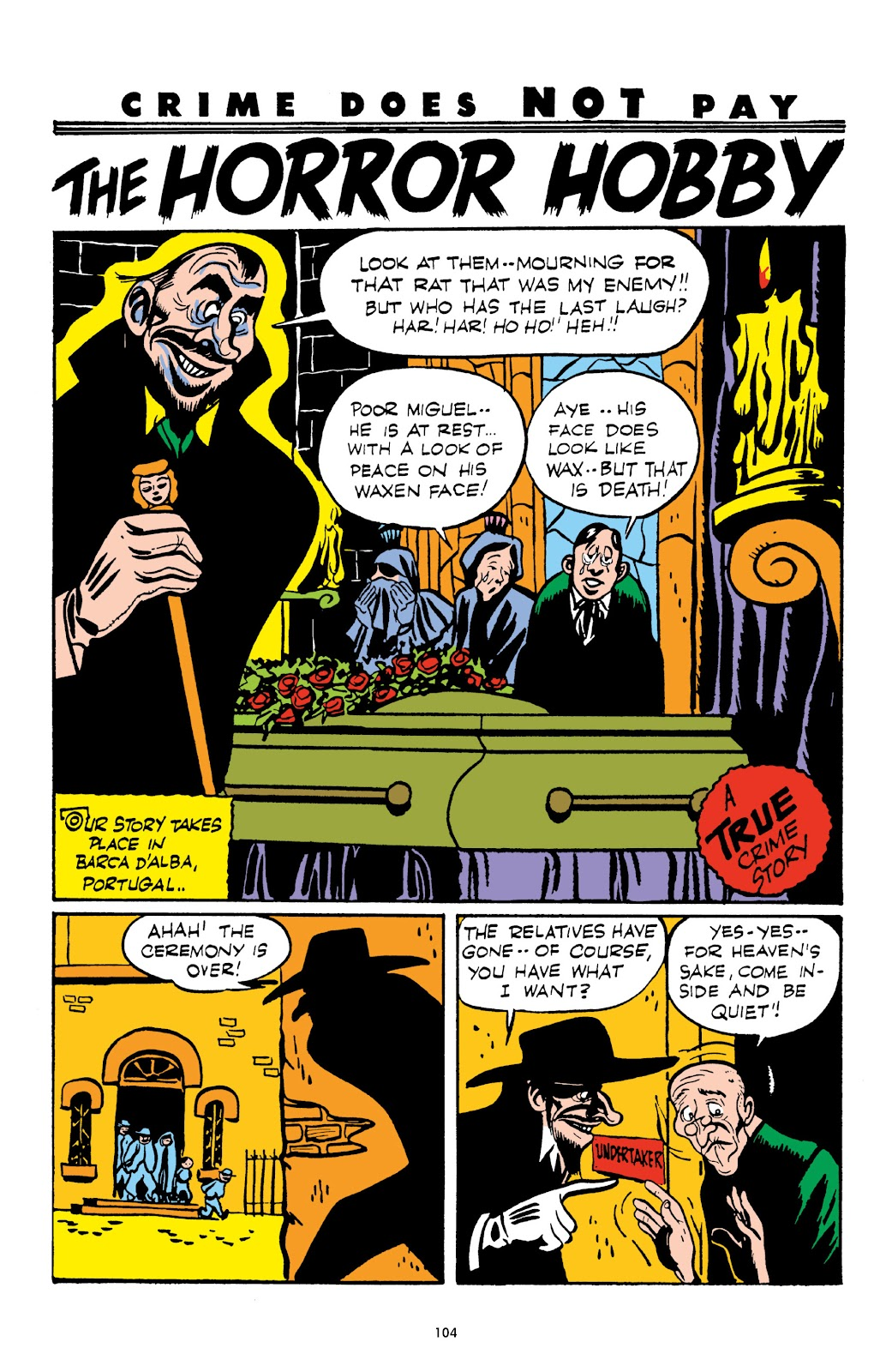 Read online Crime Does Not Pay Archives comic -  Issue # TPB 3 (Part 2) - 4