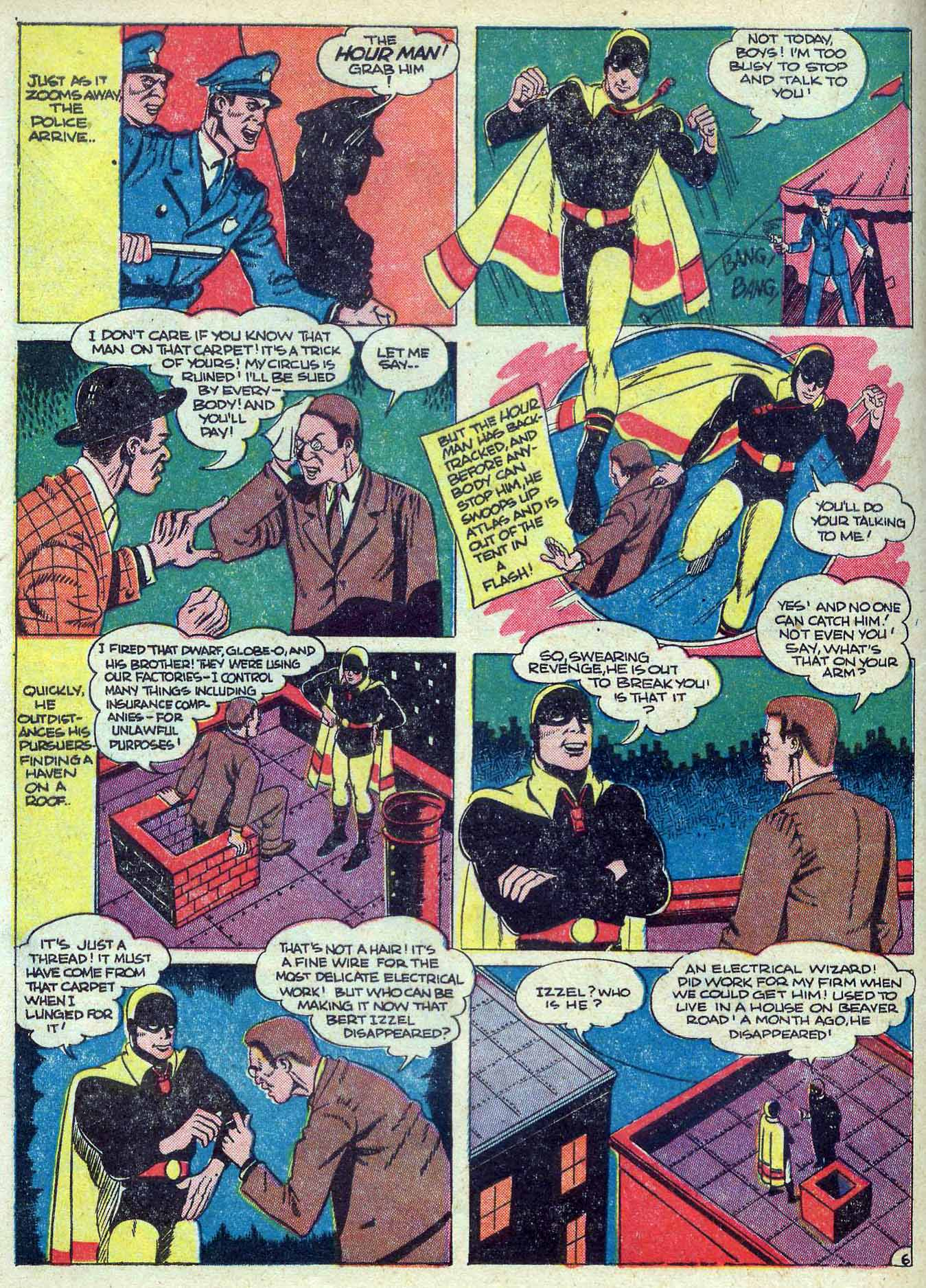 Read online Adventure Comics (1938) comic -  Issue #70 - 36