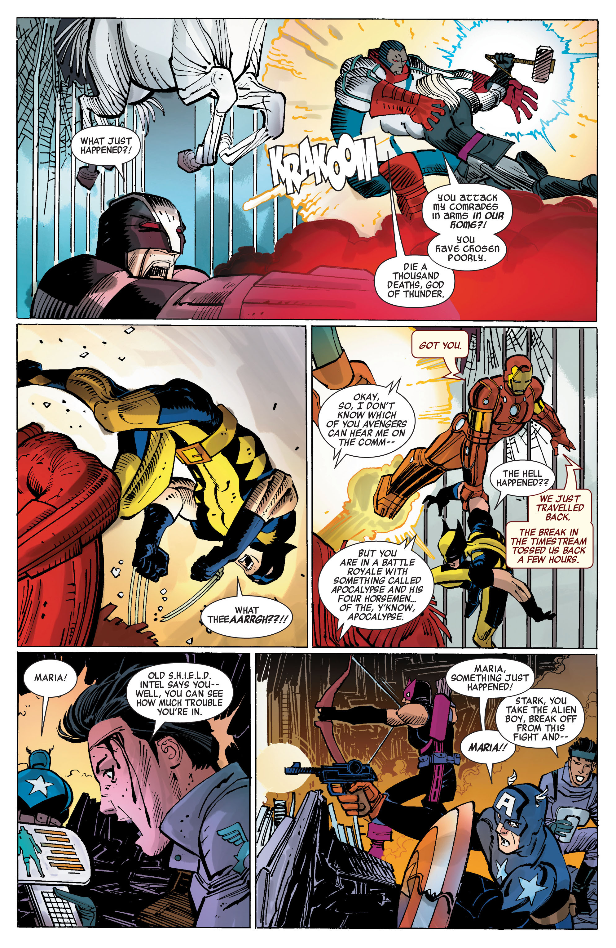 Read online Avengers (2010) comic -  Issue #5 - 14