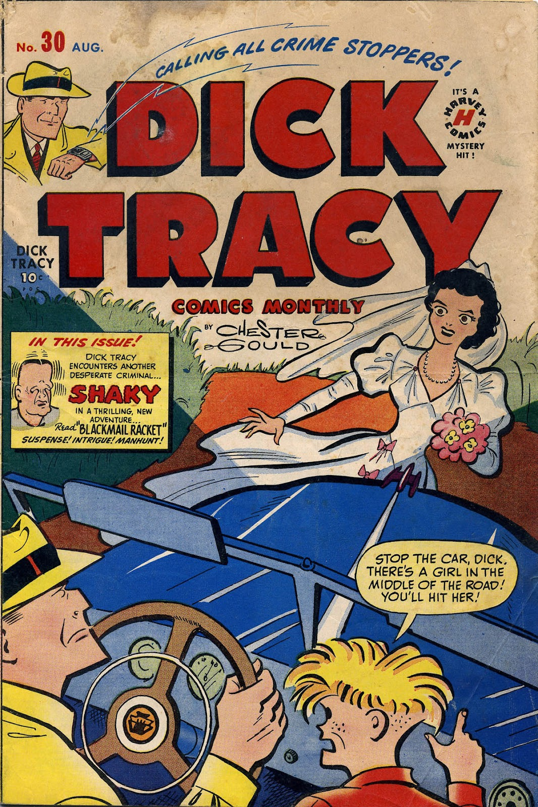 Dick Tracy (1950) 30 Page 1