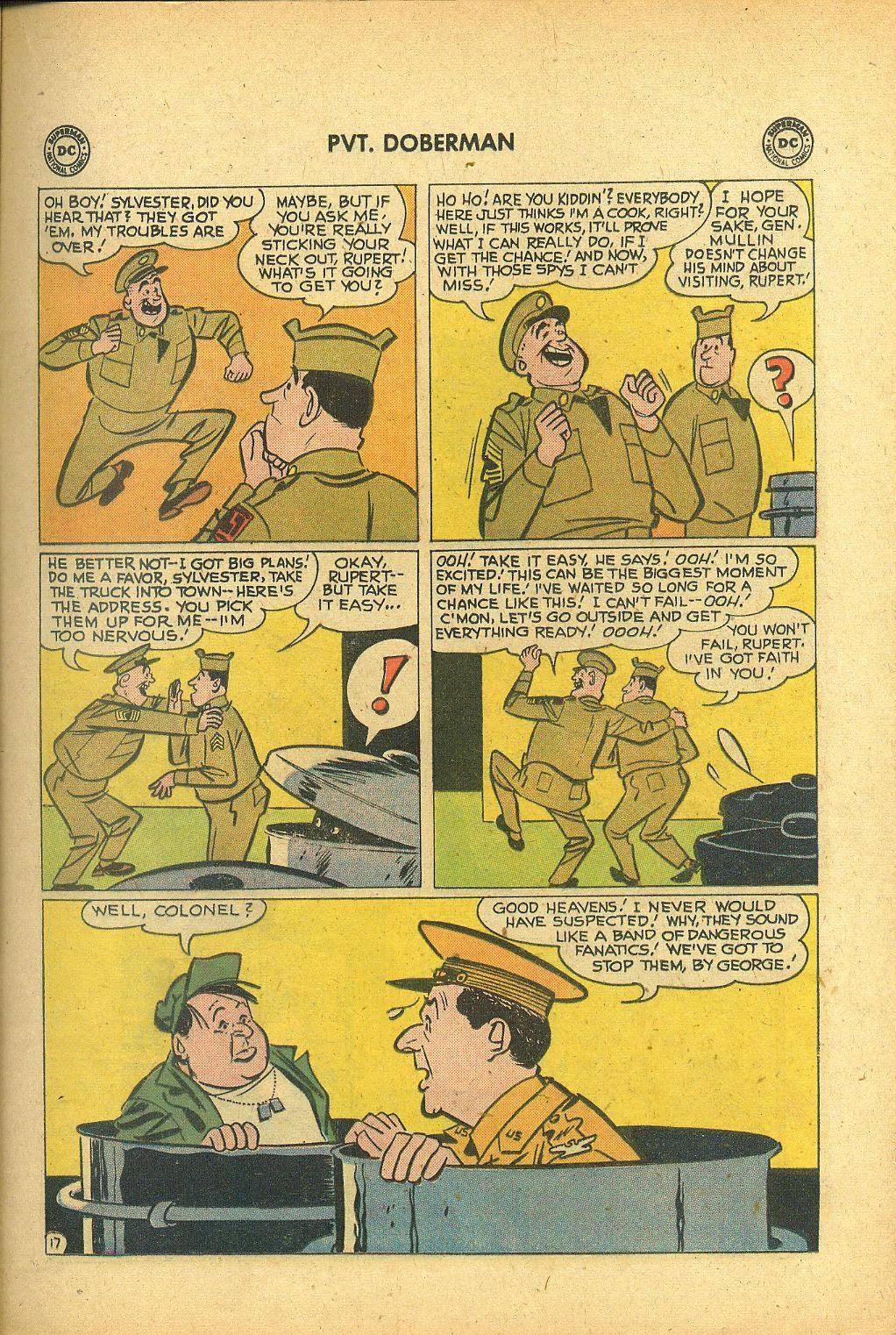 Sgt. Bilko's Pvt. Doberman issue 1 - Page 21