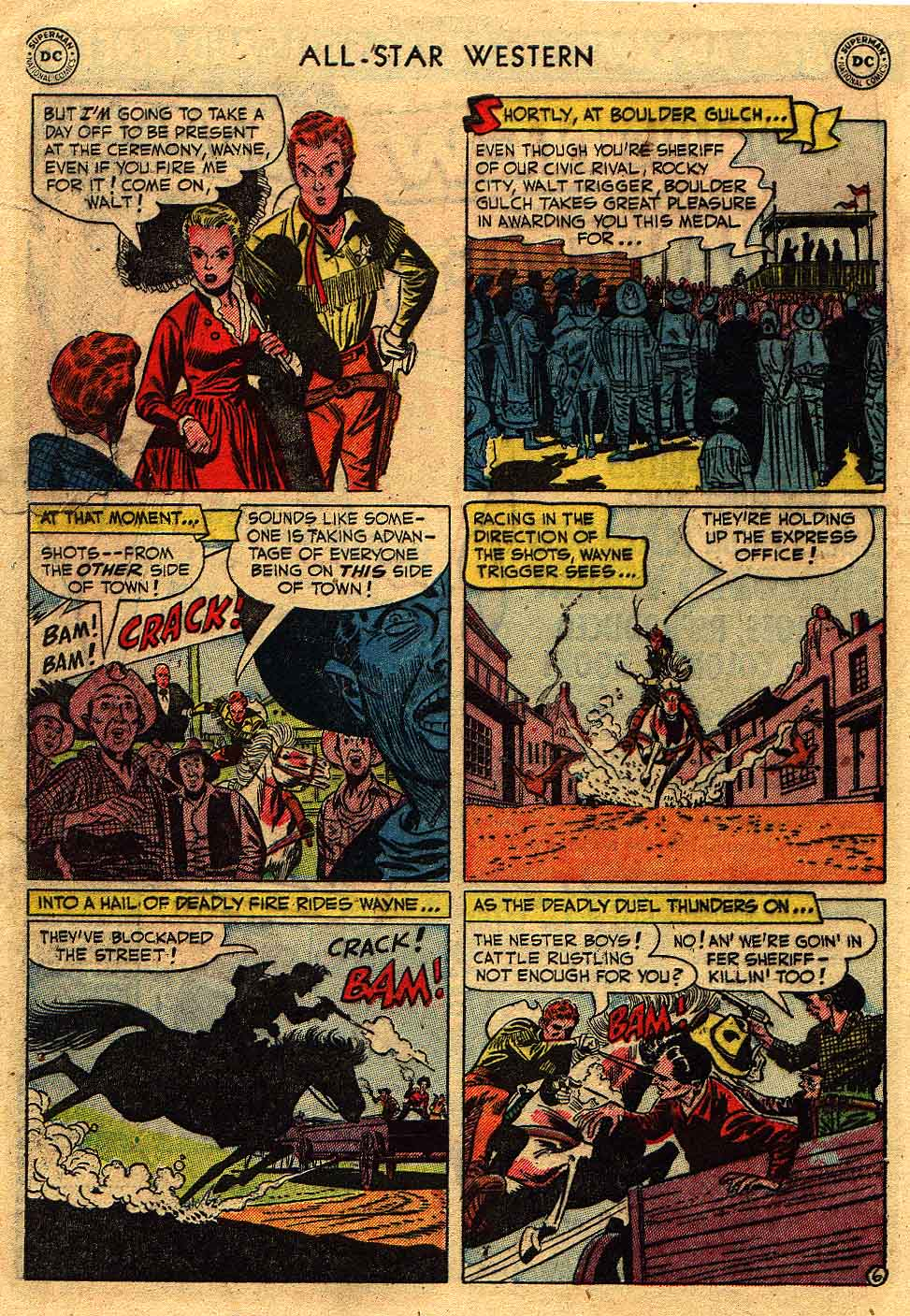 Read online All-Star Western (1951) comic -  Issue #62 - 30