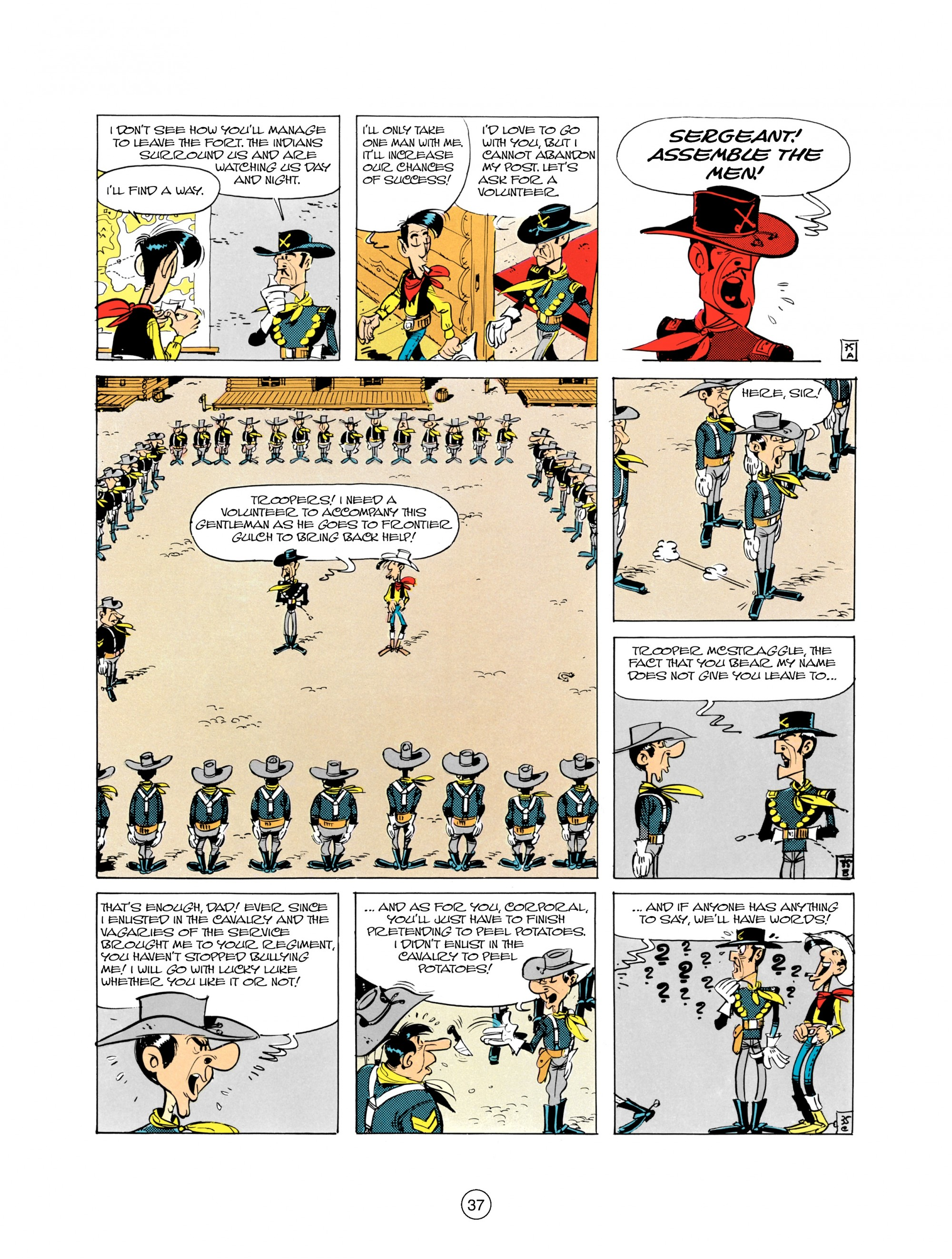 Read online A Lucky Luke Adventure comic -  Issue #21 - 37