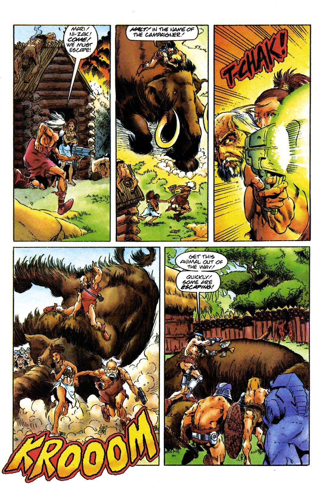 Read online Turok, Dinosaur Hunter (1993) comic -  Issue #24 - 17