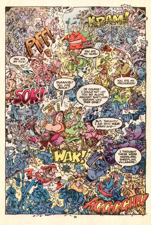 Read online Sergio Aragonés Groo the Wanderer comic -  Issue #25 - 20