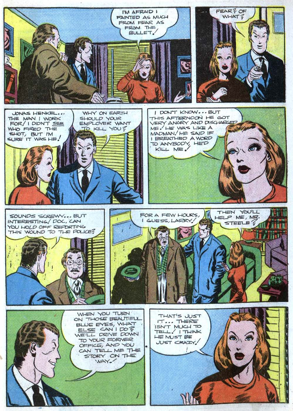 Read online Detective Comics (1937) comic -  Issue #43 - 45