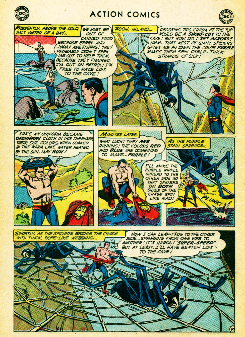 Read online Action Comics (1938) comic -  Issue #262 - 12