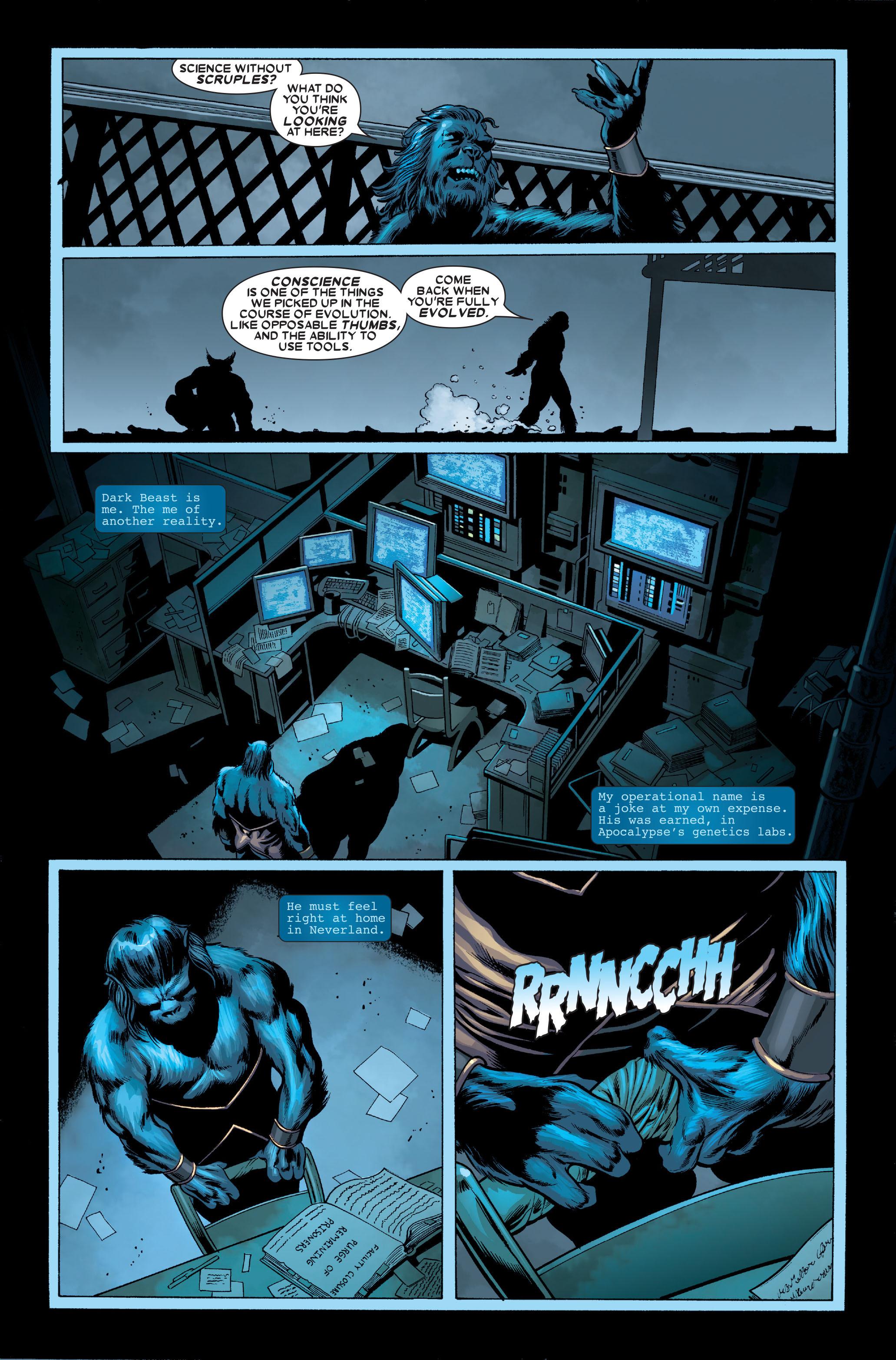 Read online Uncanny X-Men (1963) comic -  Issue #489 - 29