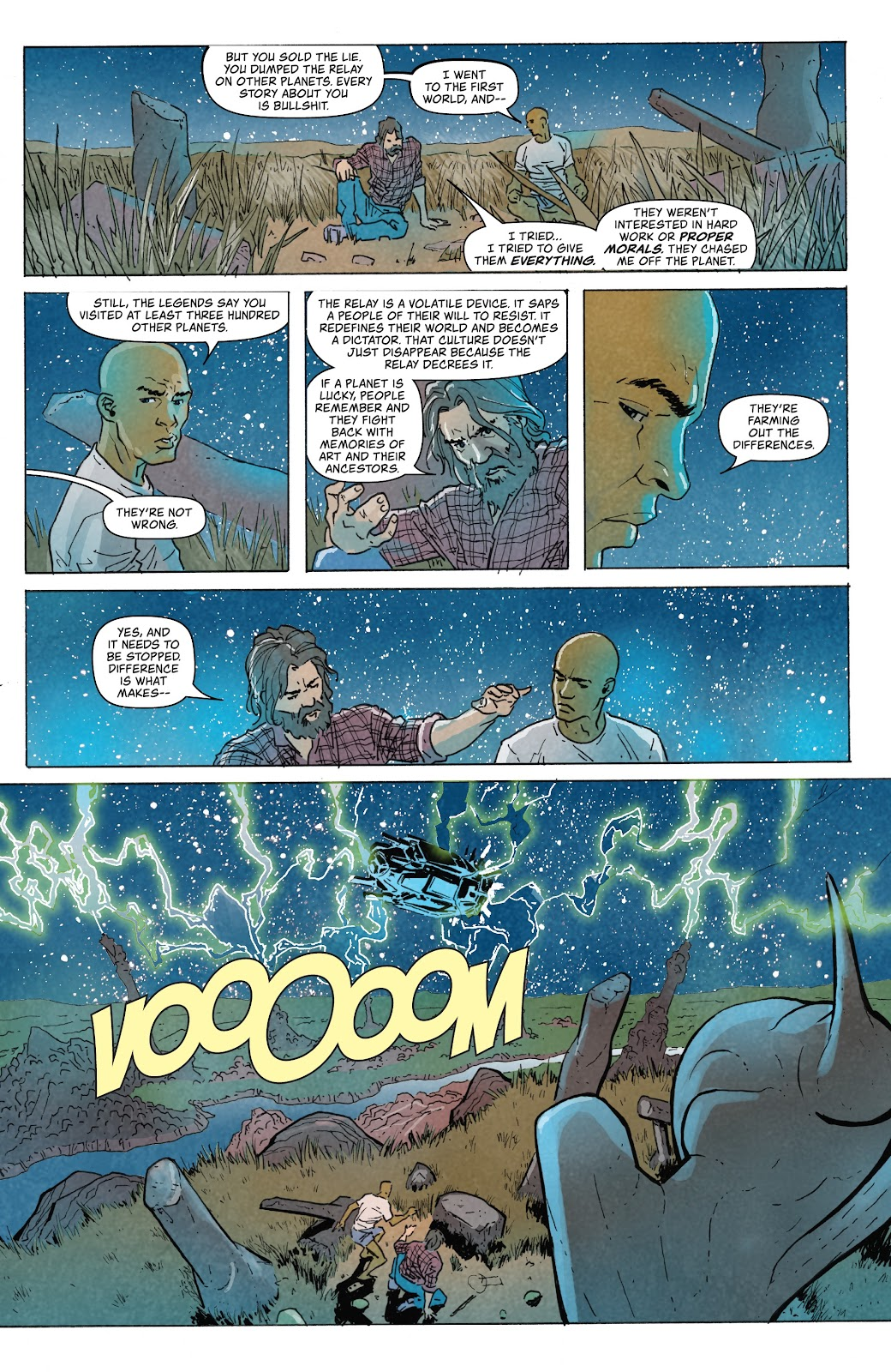 Read online Relay comic -  Issue #5 - 11