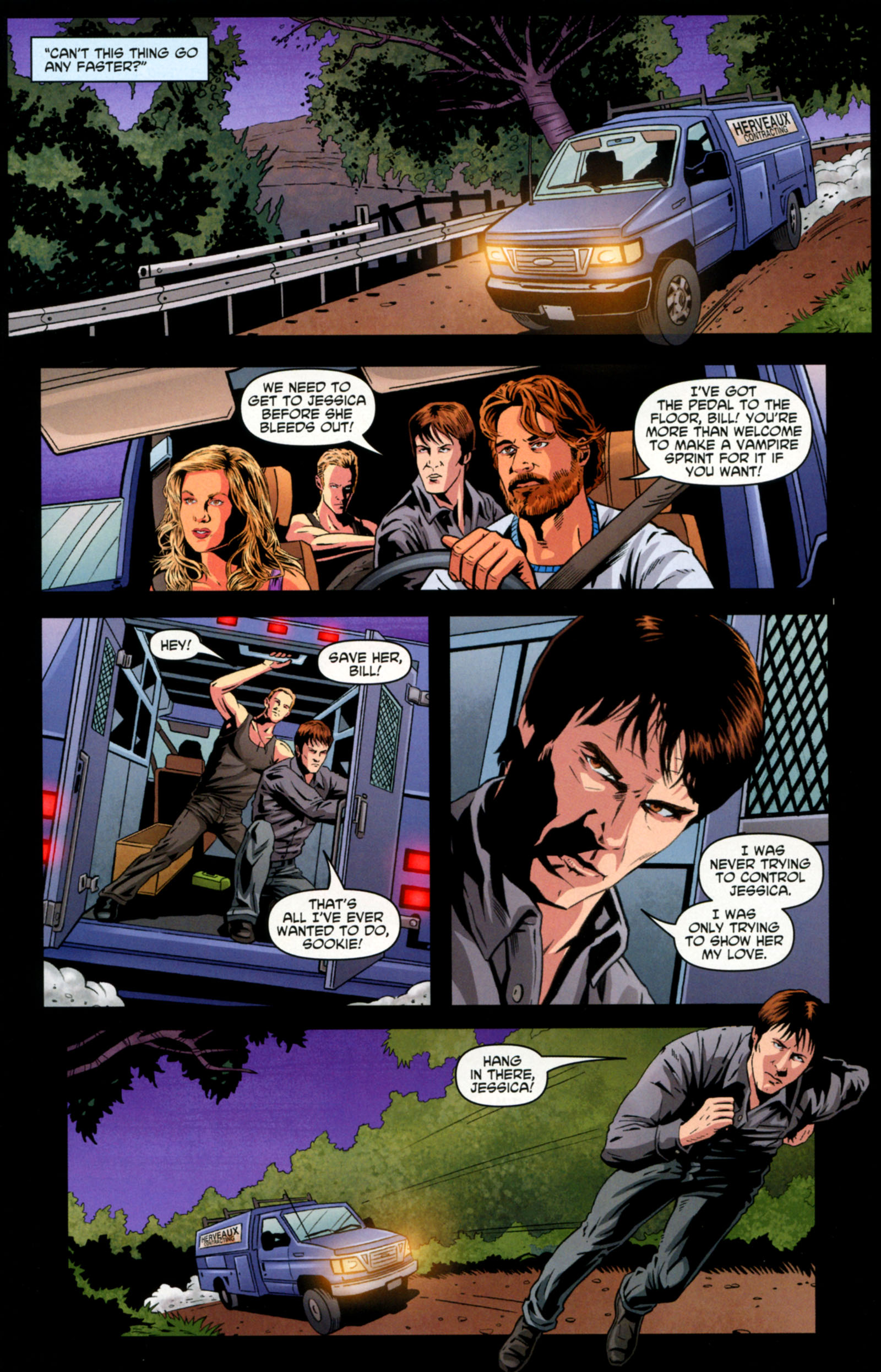 Read online True Blood: Tainted Love comic -  Issue #6 - 20