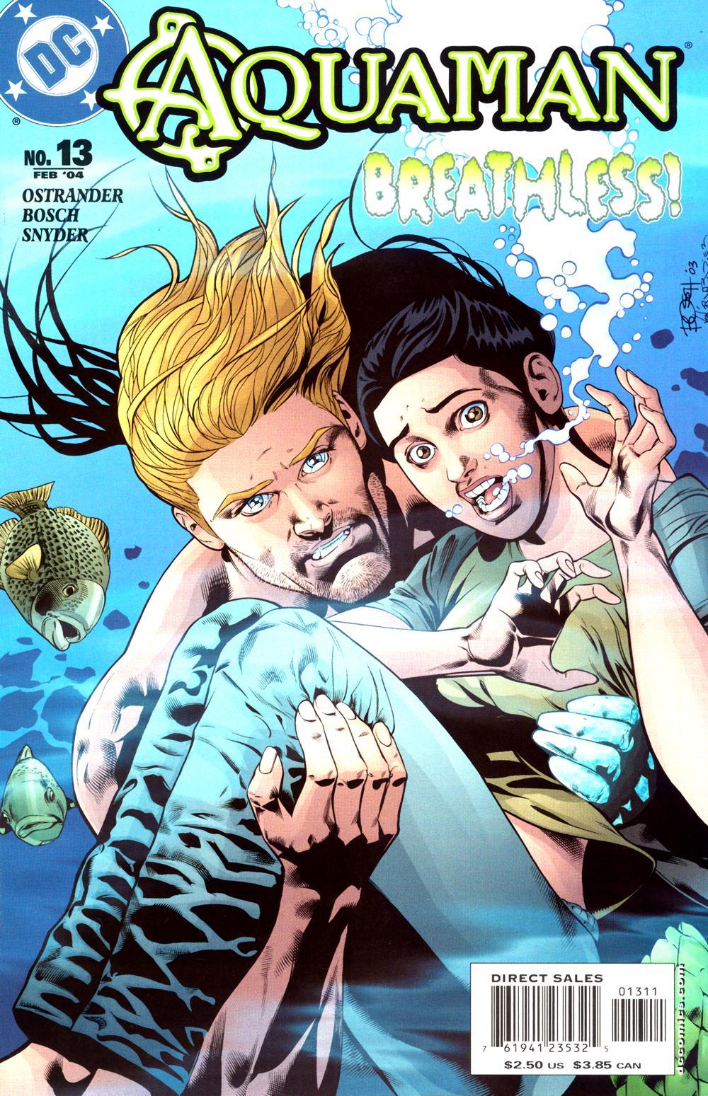 Read online Aquaman (2003) comic -  Issue #13 - 1