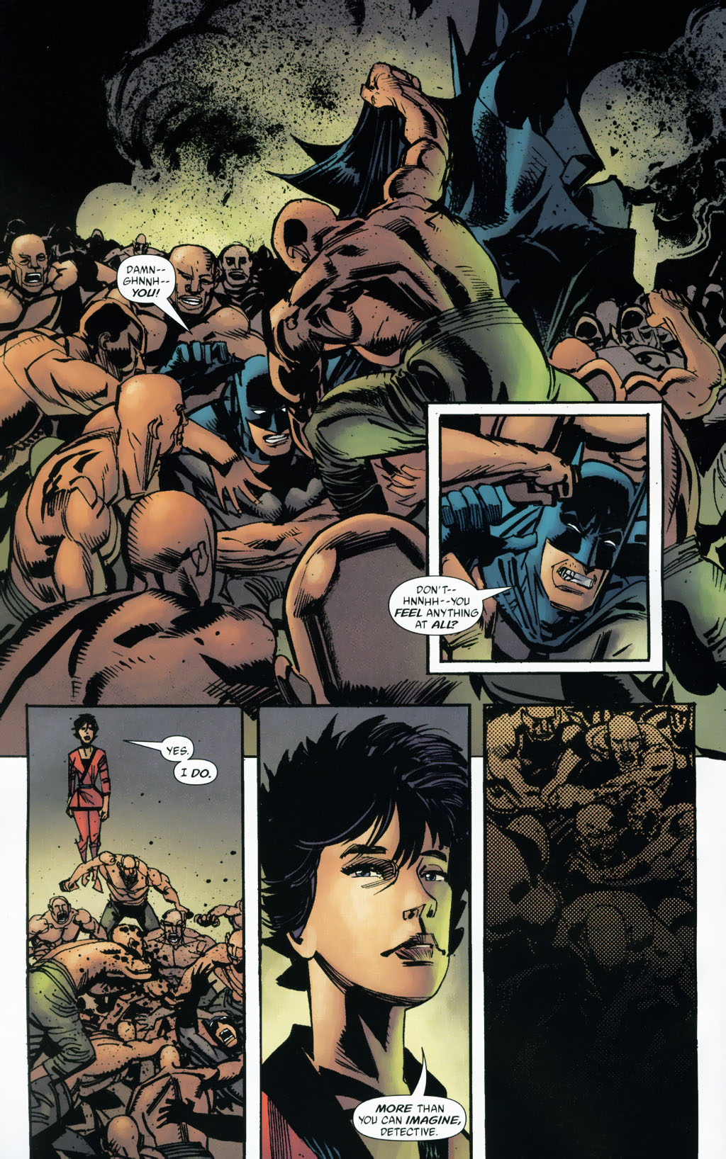 Read online Batman: Death and the Maidens comic -  Issue #9 - 8