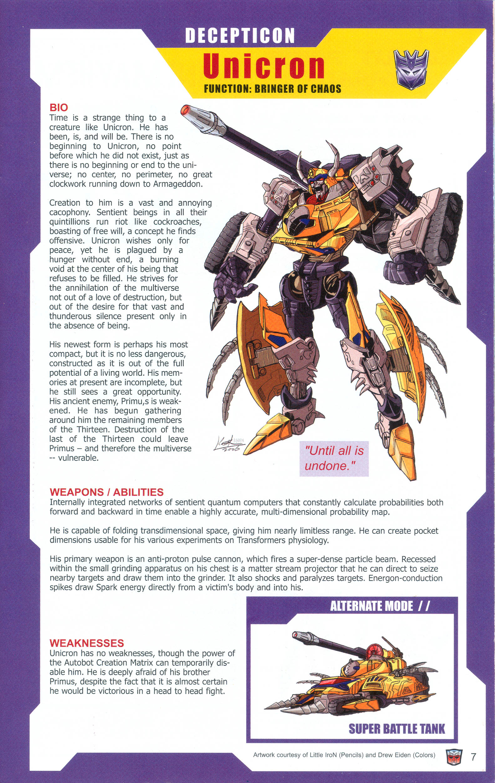 Read online Transformers: Collectors' Club comic -  Issue #10 - 7