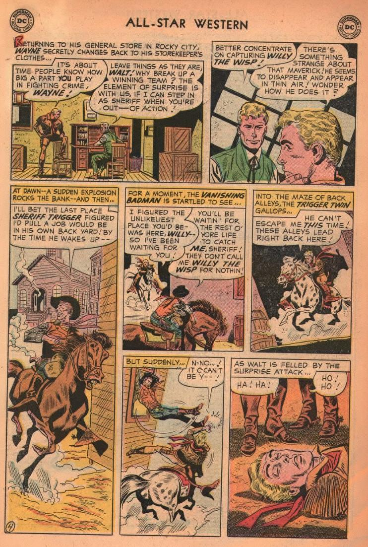 Read online All-Star Western (1951) comic -  Issue #87 - 30