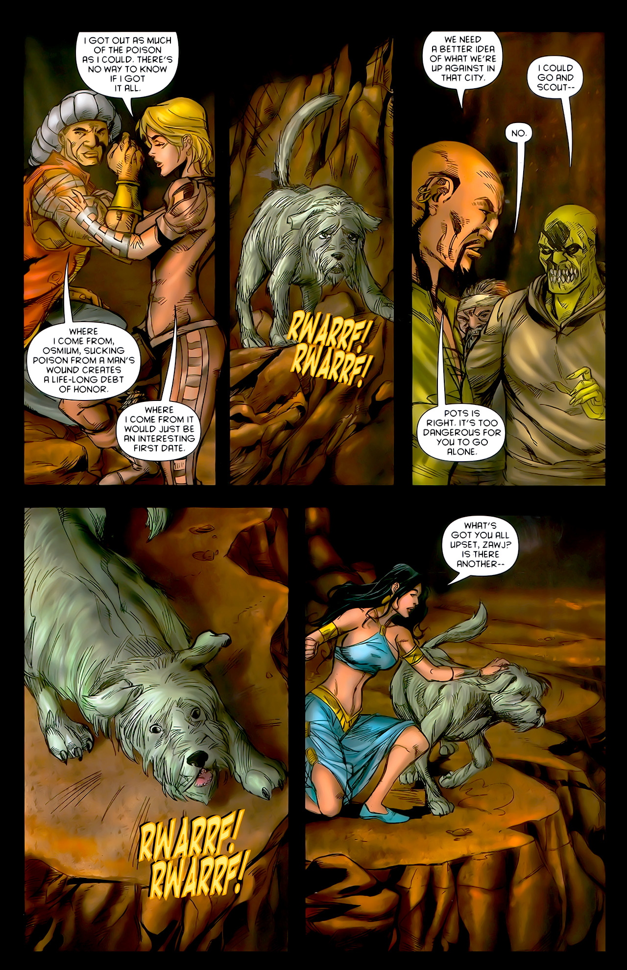 Read online 1001 Arabian Nights: The Adventures of Sinbad comic -  Issue #10 - 23