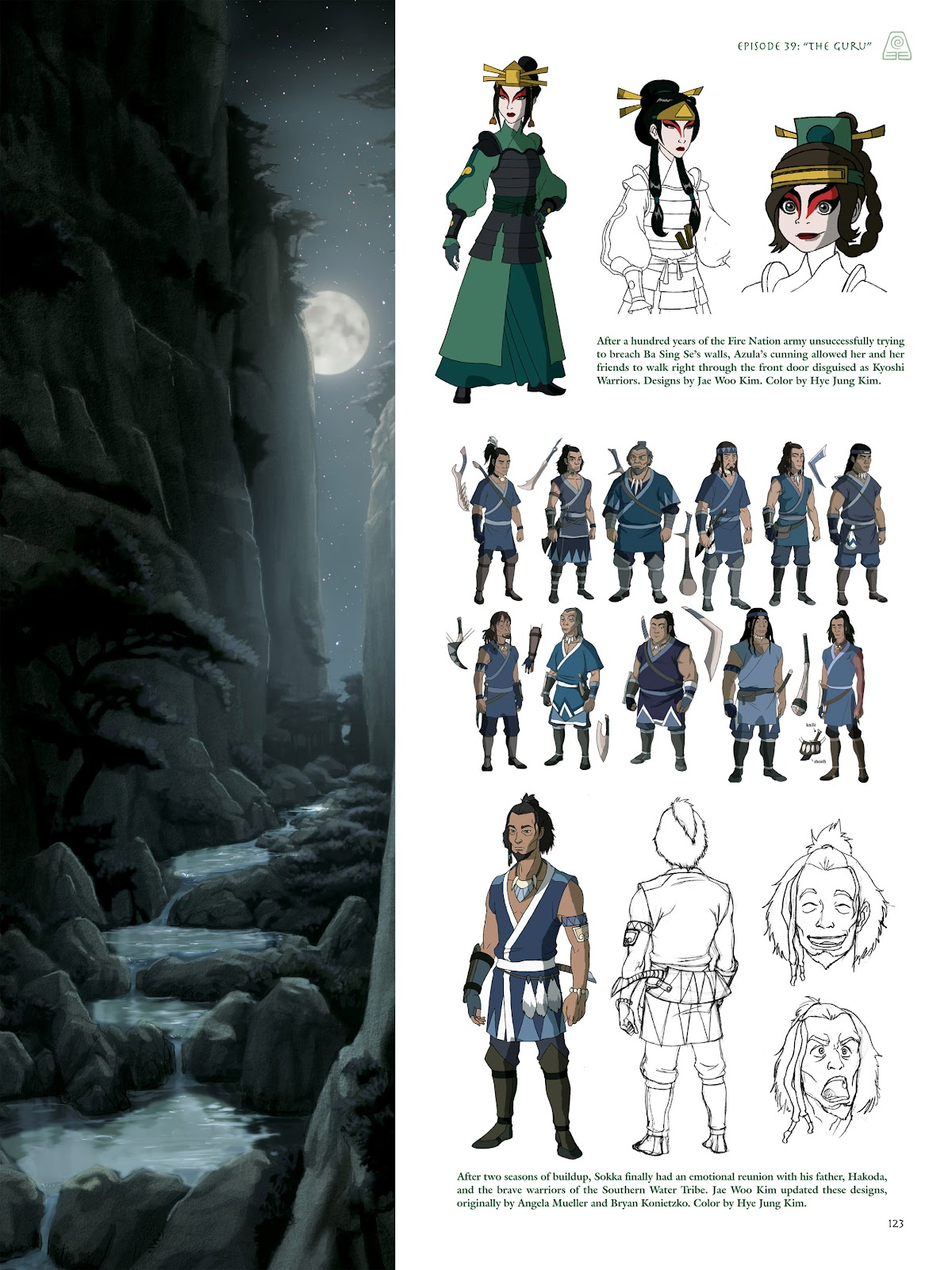 Read online Avatar: The Last Airbender - The Art of the Animated Series comic -  Issue # TPB (Part 2) - 22