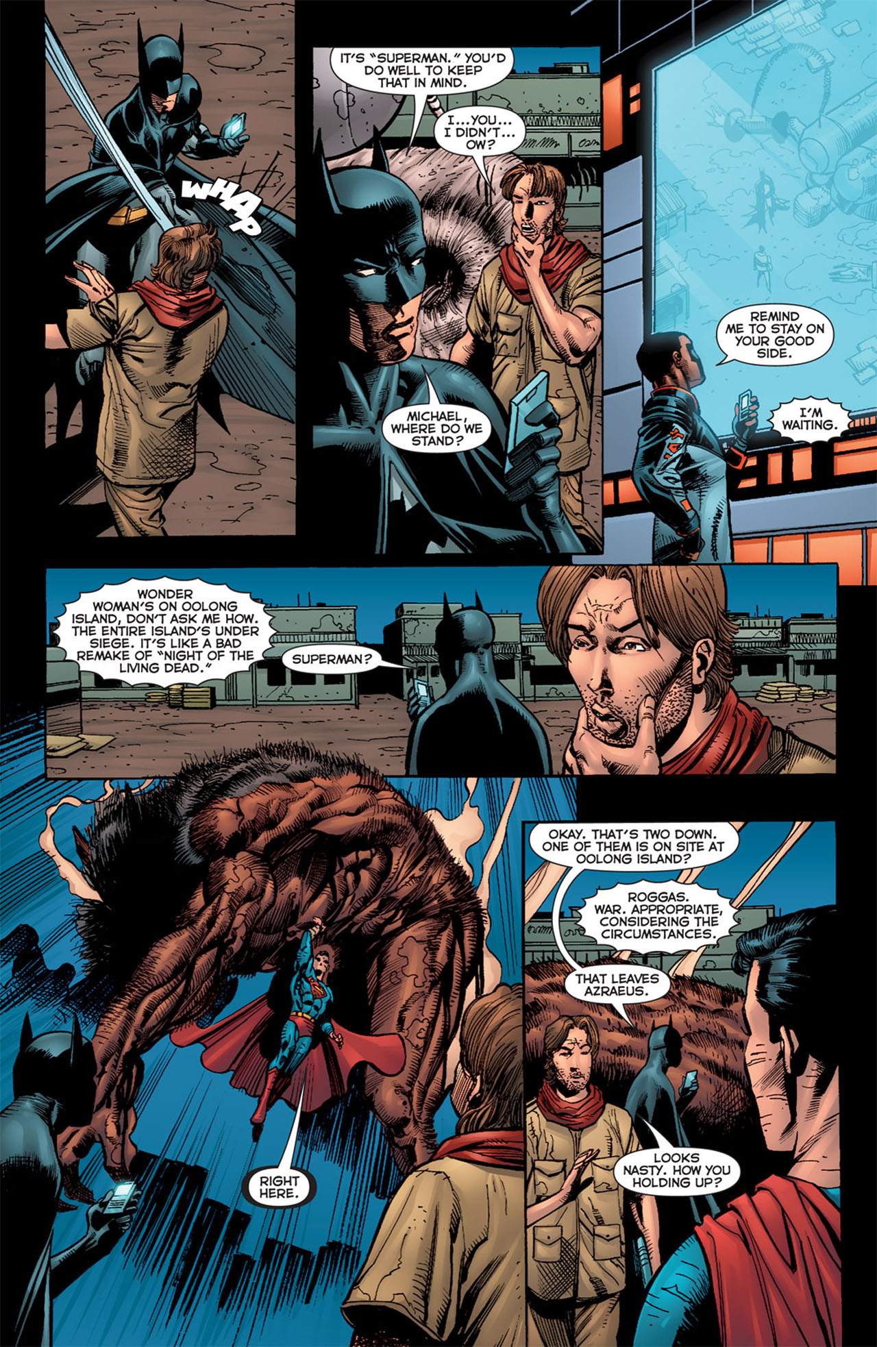 Read online 52 Aftermath: The Four Horsemen comic -  Issue #5 - 16