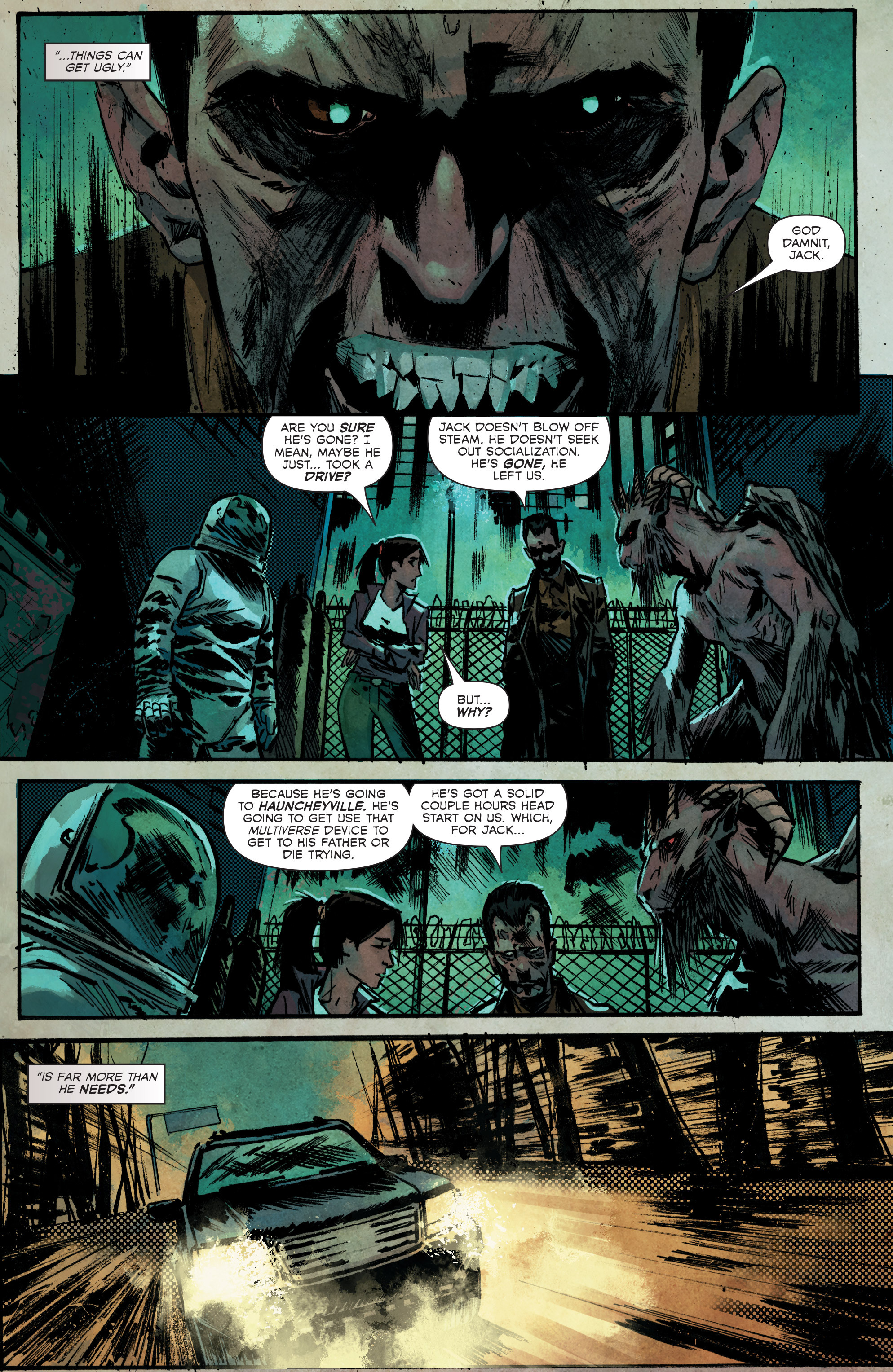 Read online Hoax Hunters (2012) comic -  Issue # TPB 3 - 82
