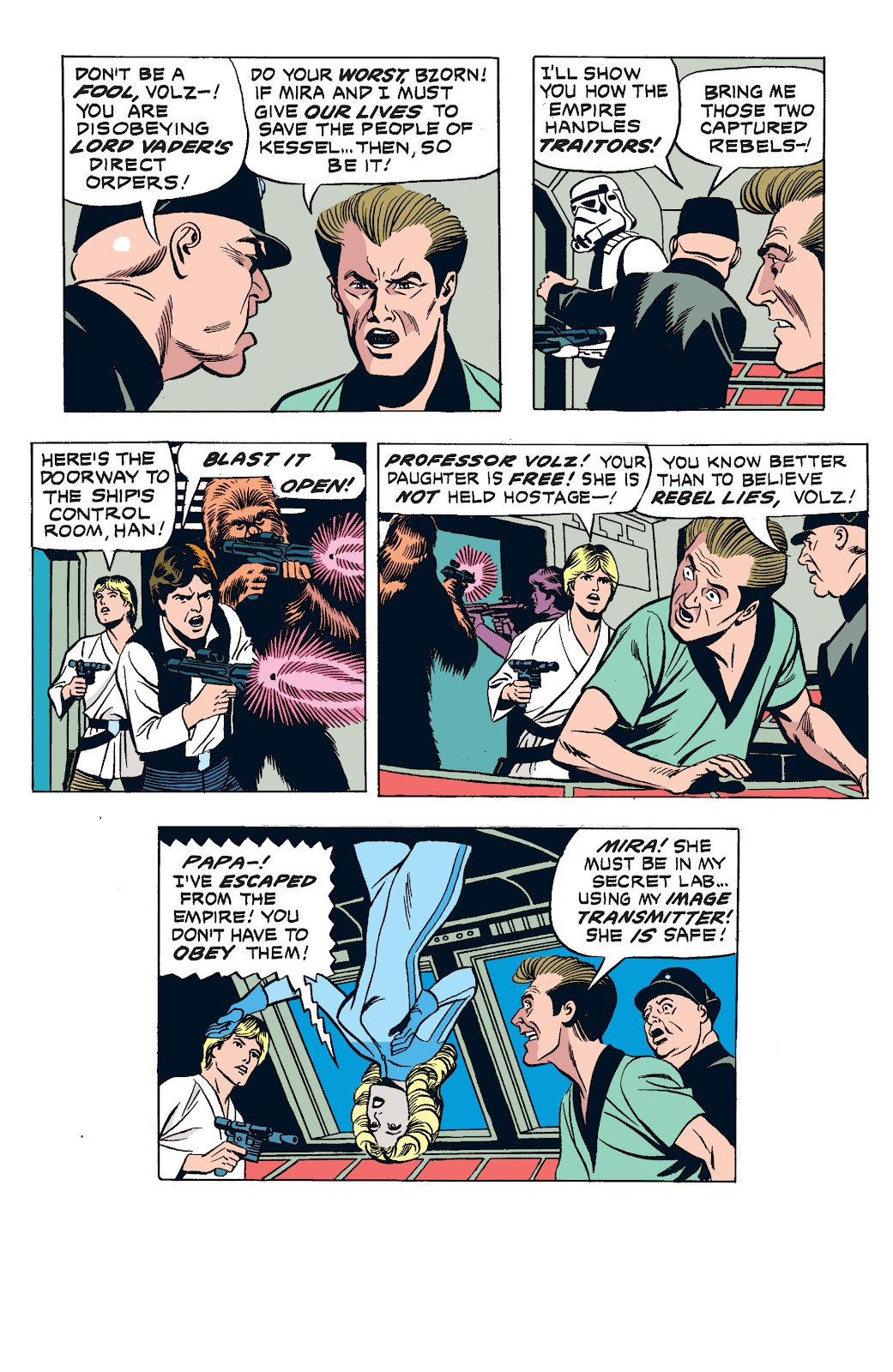 Read online Star Wars Legends: The Newspaper Strips - Epic Collection comic -  Issue # TPB (Part 2) - 97
