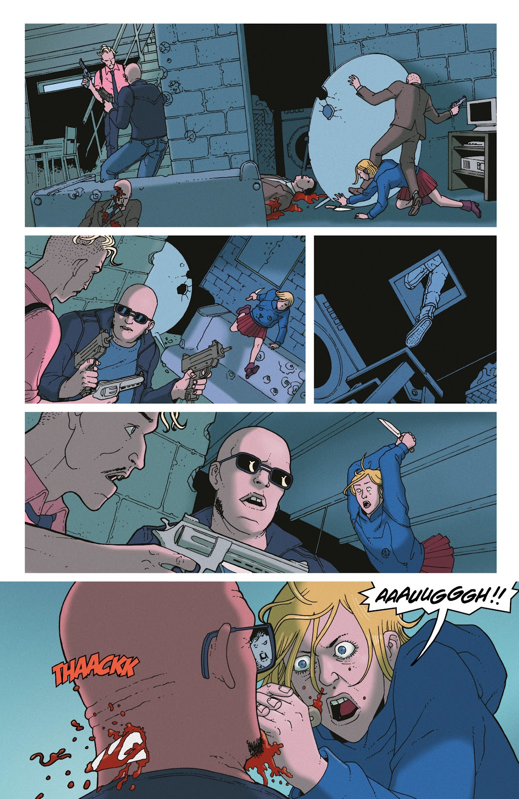 Read online She Could Fly comic -  Issue # _TPB - 128