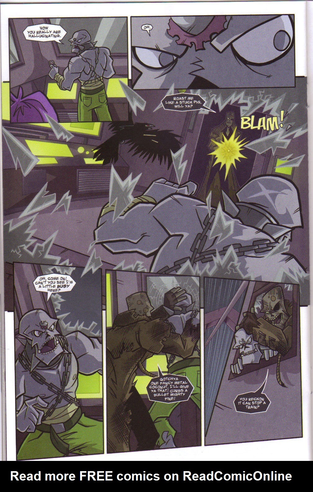 Read online Xombie Reanimated comic -  Issue #5 - 28