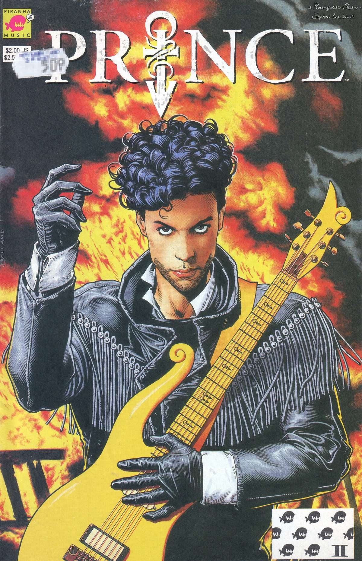 Prince:  Alter Ego Full Page 1