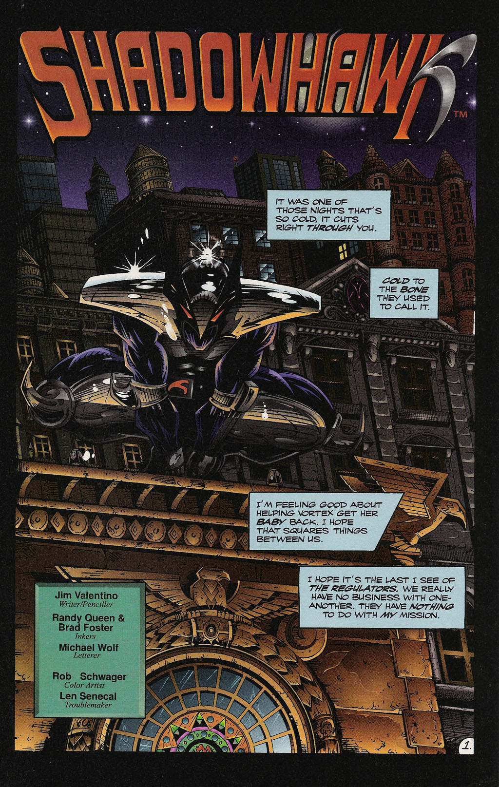 Read online ShadowHawk Gallery comic -  Issue # Full - 28
