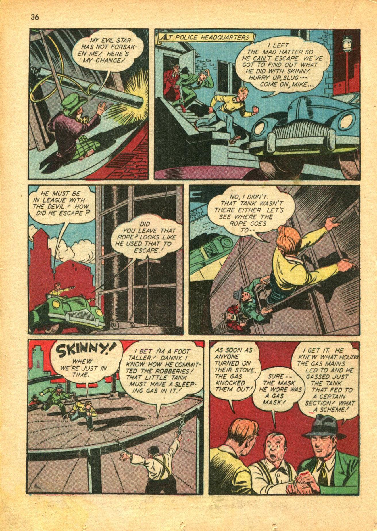 Read online Shadow Comics comic -  Issue #30 - 36