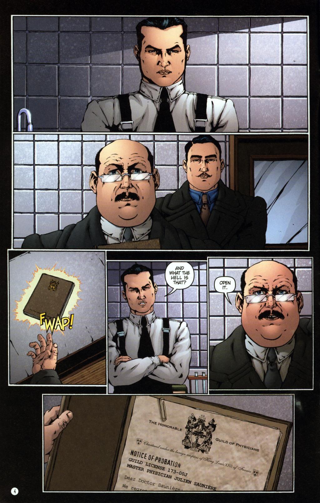 Read online Rex Mundi comic -  Issue #7 - 8