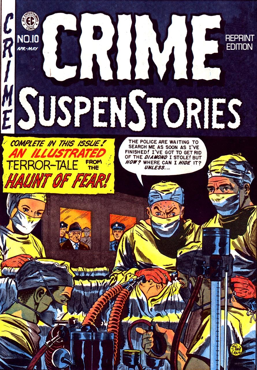 Crime SuspenStories 10 Page 1