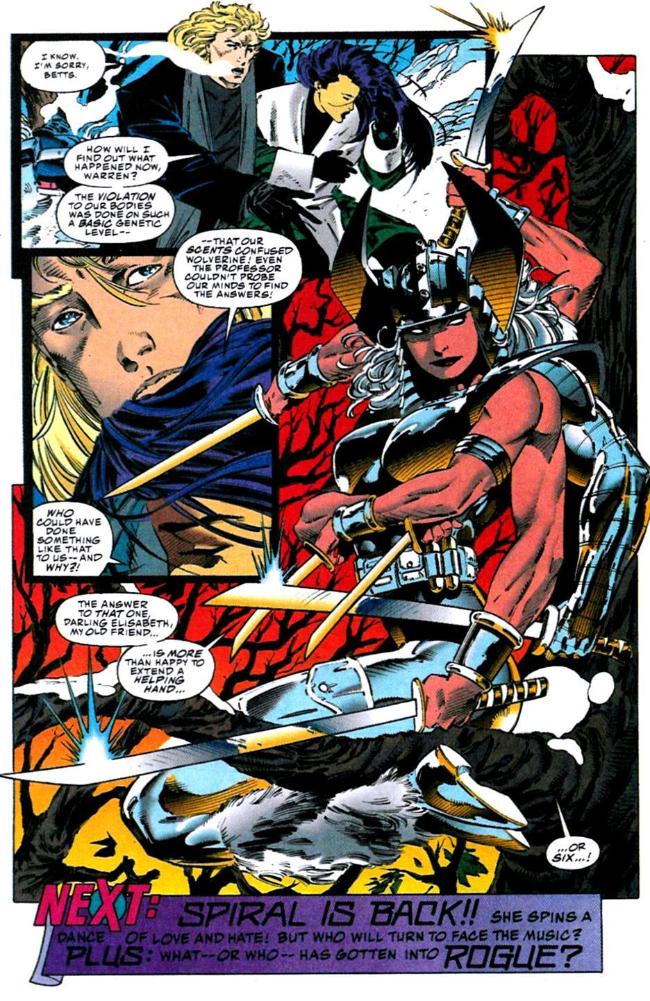 X-Men (1991) 31 Page 22