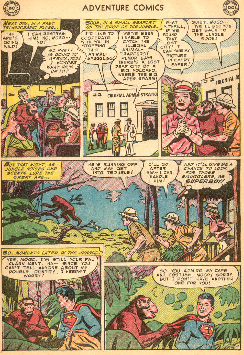 Read online Adventure Comics (1938) comic -  Issue #200 - 6