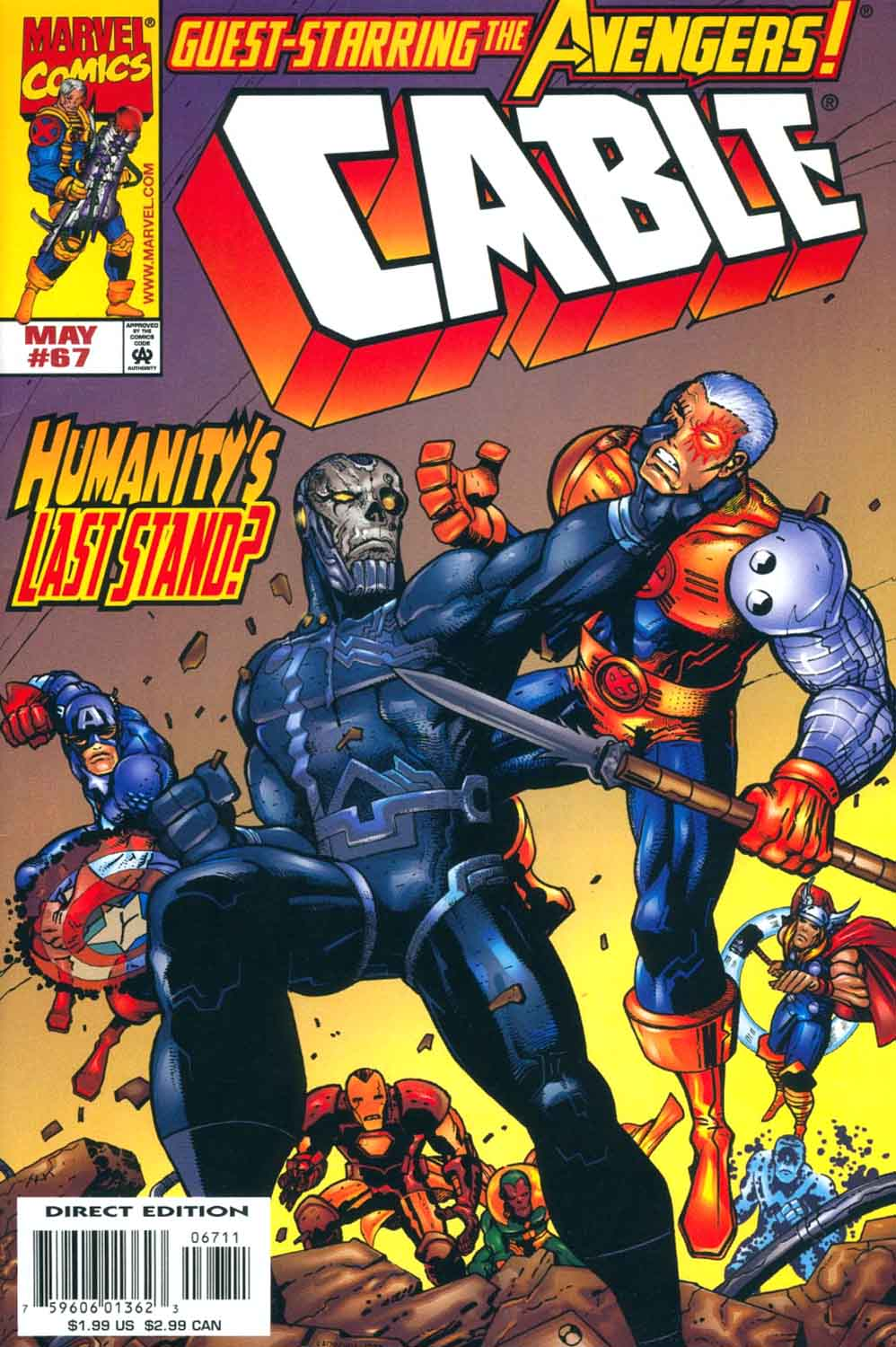 Cable (1993) 67 Page 1