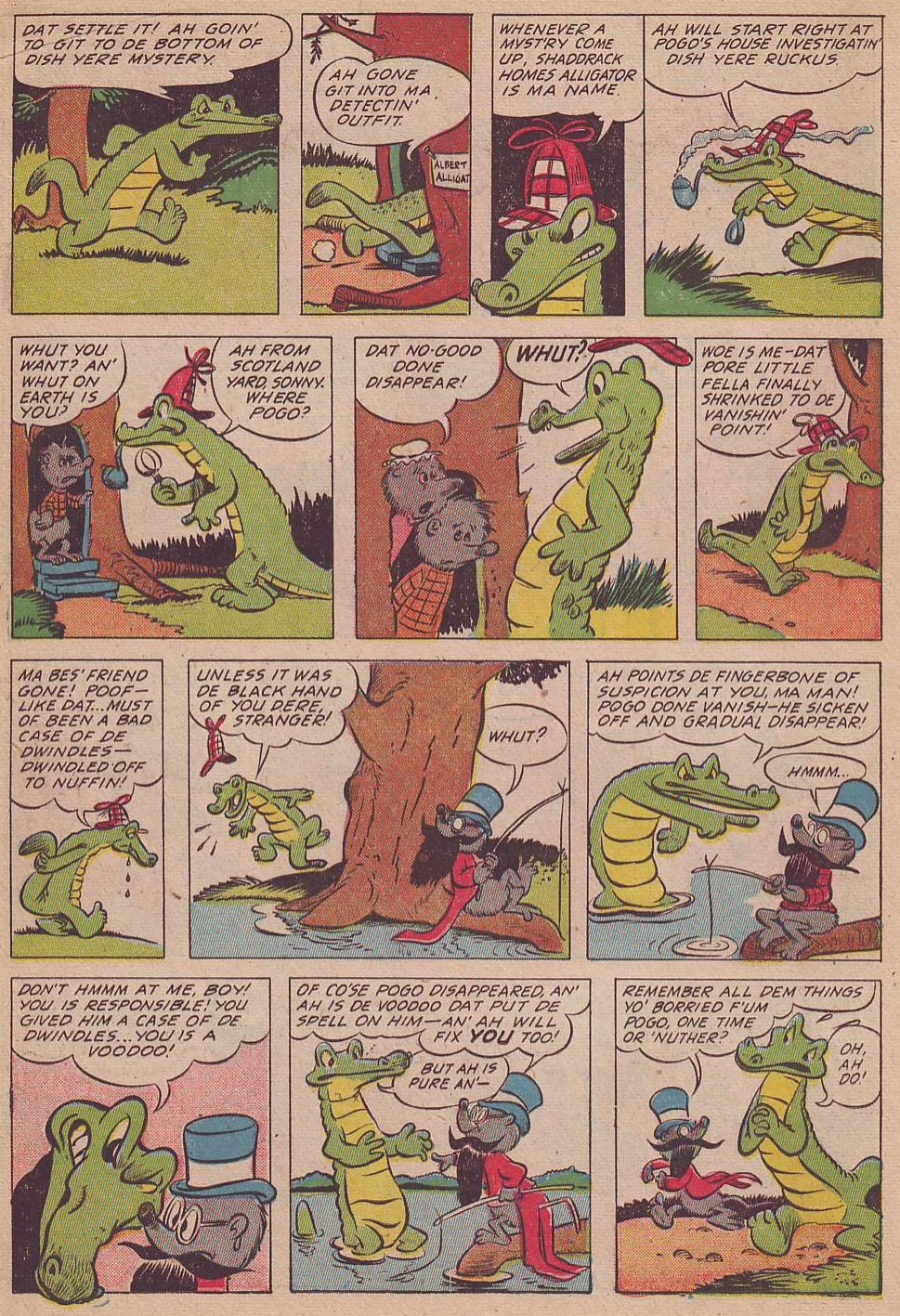 Read online Animal Comics comic -  Issue #17 - 14