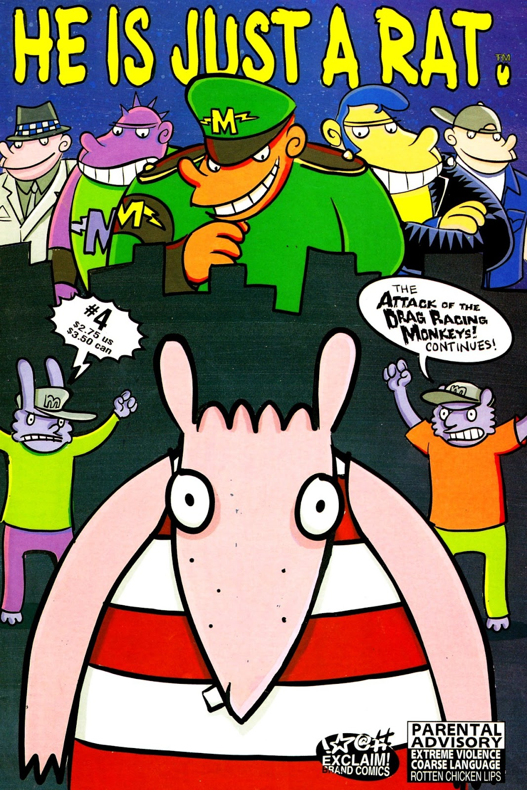 Read online He is Just a Rat comic -  Issue #4 - 1
